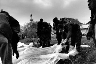 Ethnic Cleansing in Ahmici by Croatian troops (HVO) - Bosnia and Herzegovina