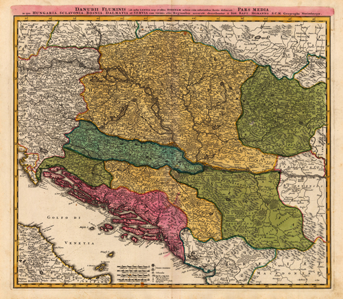 Southeast Europe 1720 - 1730 AD