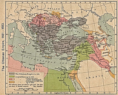 The Ottoman Empire; Year 1481-1683