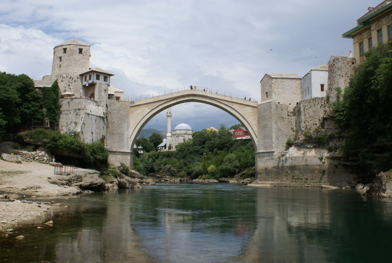 Old Bridge (Stari Most), Mostar - Bosni and Herzegovina