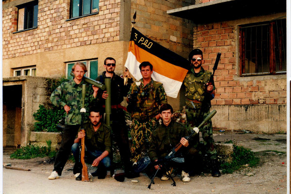 3rd Volunteer Russian Detachment - Sarajevo
