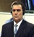 Serb war criminal in Bosnia and Herzegovina