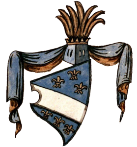 Coat of arms of the medieval Bosnia during the reign of King Stephen Tvrtko I